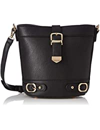 Satyapaul Women's Sling Bag (Black)