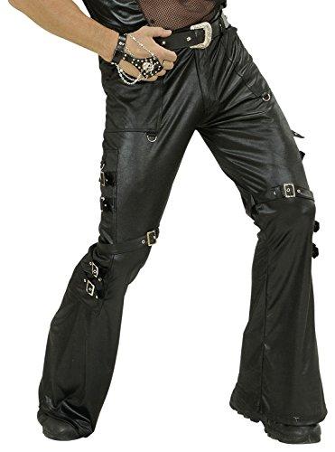 WIDMANN Herren-Kostüm in Lederoptik, Größe L, 106,7/111,8 cm, für (80's Party Herren Kostüm Ideen)