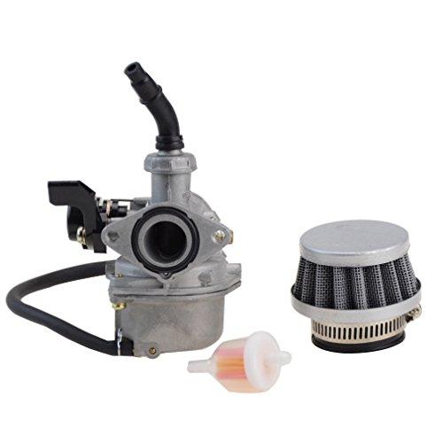 Preisvergleich Produktbild GOOFIT PZ19 Vergaser mit Luftfilter für Chinesische 50c-125ccm Roller Motorrad ATV Scooter Dirt Bike Ersatzteile