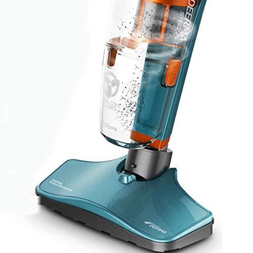 XHCP Zylindersauger Bagless Cylinder Leistungsstarker, kompakter, Leichter Staubsauger für Mehrschicht- und Teppichböden, blau, Standard-Staubsauger - Blau Bagless Staubsauger