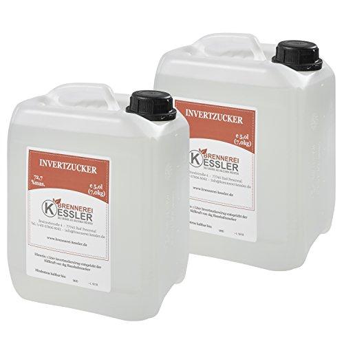 Invertzucker - Flüssigzucker 10 Liter (14kg) 72,7%mas.