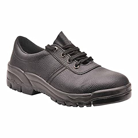 Portwest FW19BKR42 Work Shoe, O1, Regular, Size: 42, Black