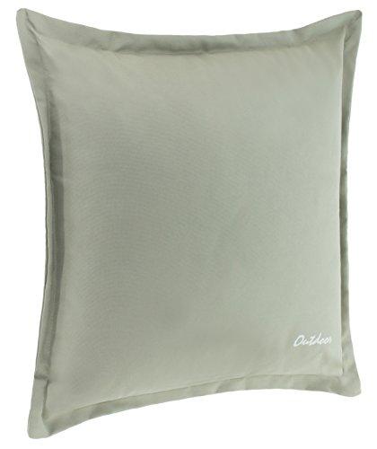Cuscino decorativo per esterni–Impermeabile e a prova di sporcizia con chiusura lampo, ponticello 2 cm, 350g., imbottitura,dimensioni: 48x 48cm