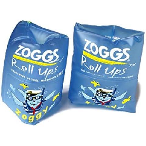 Zoggs blu roll up bracciali–1+ 1paio