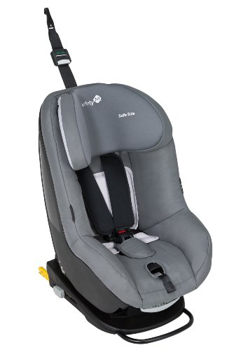 Safety 1st 86197660 - PrimeoFix Kindersitz Gruppe 0+/1 (bis 18 kg), Full Grey