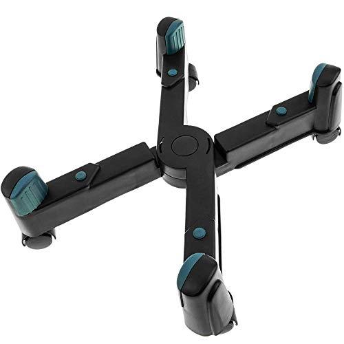 BeMatik - Soporte Ordenador PC Ruedas Color Negro
