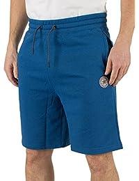 Converse Homme Core Logo Shorts réfléchissants, Bleu