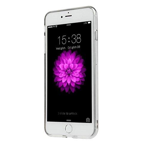 MOONCASE iPhone 7 Plus Coque, Bling Glitter Etui TPU Silicone Antichoc Housse Case pour iPhone 7 Plus (Arbre Fille - Argent) Arbre Fille - Violet