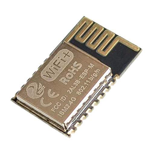 B Blesiya 1 Stück ESP-M2 ESP8285 WiFi-Modul Für Serielle Schnittstelle, 20 x 12.3mm - wie beschrieben serielle Schnittstelle