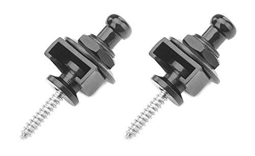 Rocktile RSL-10-BK Security Locks (2 Stück Endpin Set, inkl. Gegenstück, Steckverbindung um 360° drehbar) schwarz