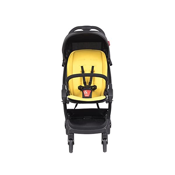 Phil & Teds Go V1, Buggy, Pushchair-Lemon phil&teds Package Included: 1Phil & Teds go pushchair Lemon Includes removable front strap With Seat Cushion 3
