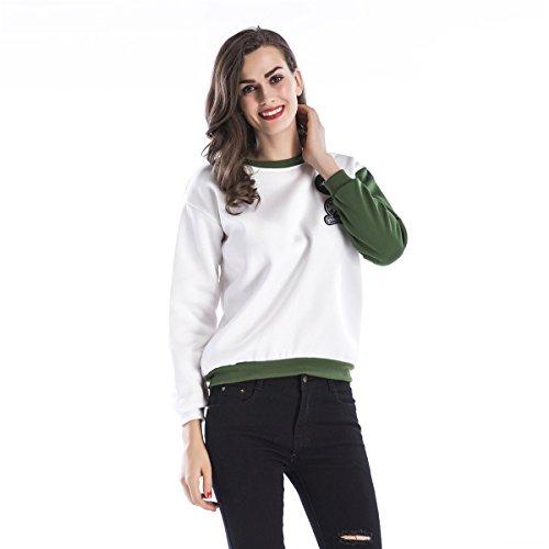 FUJING - Sweat-shirt - Femme Blanc