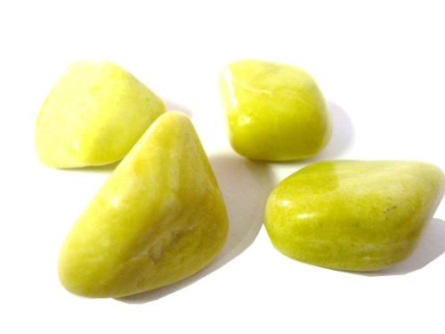Tumbled Yellow Serpentine Tumble Stone A Grade Quality Crystal Helps To Open Psychic Abilities Free Postage