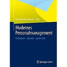modernes personalmanagement strategisch operativ systemisch