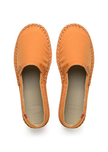 Havaianas Origine Iii, Alpargatas para Unisex Adulto, Naranja Light Orange, 37 EU 35 Brazilian