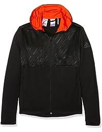 adidas YB UF T FZ HOOD -Sweatshirt pour Garçon, Noir