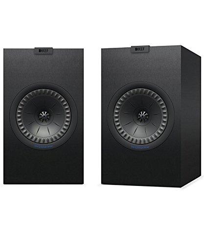 'KEF Q350SCHWARZ Lautsprecher–Lautsprecher (Lautsprecher, XLR, Boden, Stand-mountable, geschlossen, 2,54cm (1Zoll), 16,5cm (6,5))
