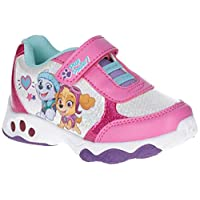 Leomil Girls Skye and Everest Lights Up Sparkle Trainers