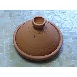 Tajine marroquí cocina/sirviendo no esmaltado Ø 20 cm para 1 persona