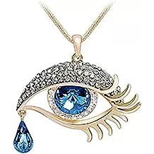 ColorMax-Colgante de ojo turco con lágrima