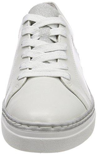 Tamaris 23743, Sneakers Basses Femme Blanc (White)