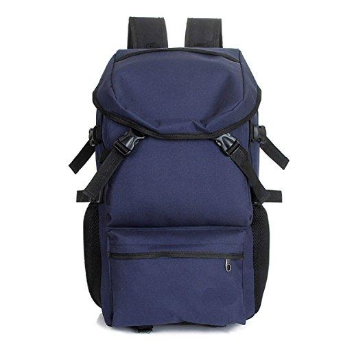 QPALZM All'aperto Zaino Da Viaggio Escursionismo E Zaino Confezione Casual Grandi College School Daypack Spalla Borse Book,Darkblue-AllCode darkblue
