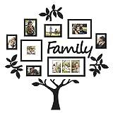 7°MR cadre photo DIY Acryl Baguette Aufkleber Amovible Foto Rahmen Baum Baguette Stickers Affiche Baguette Aufkleber Blume...