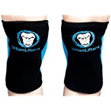 Rodilleras Urban Lifters.(Par) 7mm Knee Sleeves Crossfit/Halterofilia (5mm, S)