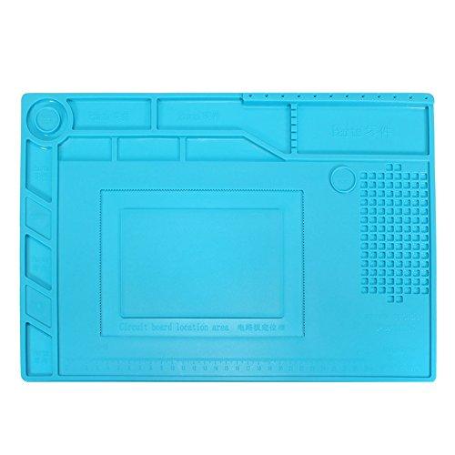 DyNamic S-150 39X27Cm Lötreparatur-Plattform Wärmeerdämmung Silikon Pad Mat