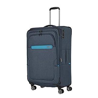 travelite Travelite: «Madeira» – Sehr Leichte Trolleys, Trolley-Taschen, Reise- Und Bordtaschen Plus Weekender Equipaje de Mano, 77 Centimeters