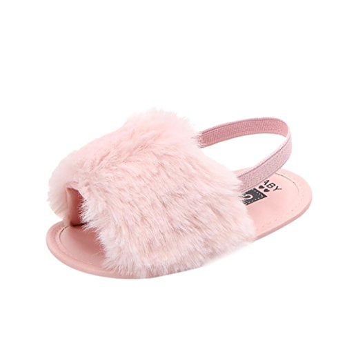 Baby Shoes,Ba Zha  Newborn Infant Baby Letter Solid Flock Soft Sandals Slipper Casual Shoes Sneaker Anti-Slip Soft Sole Toddler Infant Newborn Shoes Cute Shoes Toddler Shoes Slippers