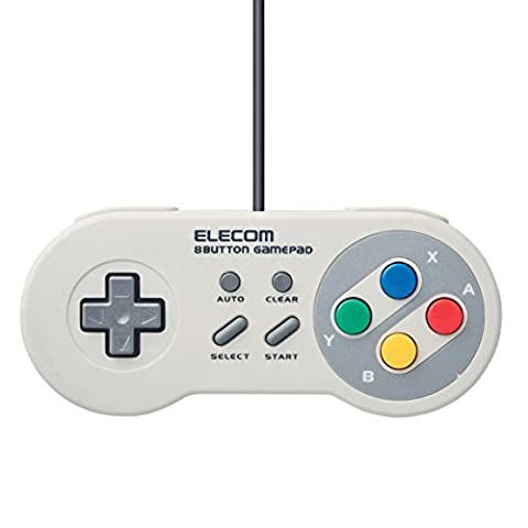 ELECOM Classic USB Gamepad for PC [Japan Import]