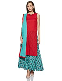 ecdc5fdca63ce5 Amazon.in  Sleeveless - Salwar Suits   Ethnic Wear  Clothing ...
