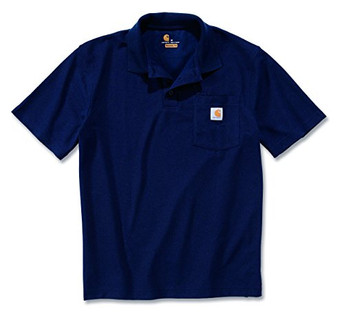 Carhartt Workwear T-Shirt Contractor´s Work Pocket Polo - Navy (XL)