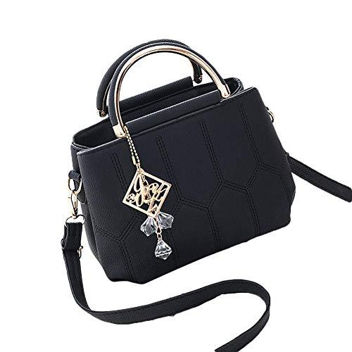 leap-G handtasche damen, Frauen Elegant Tragetasche Mode Handtasche, Premium Packbeutel-Set für Reise, Party und Freizeit