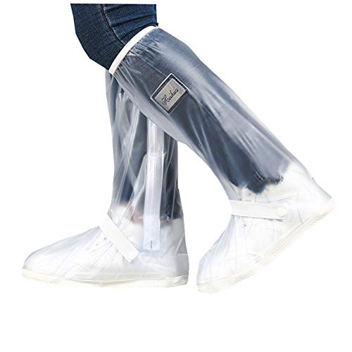 Overshoes Rain Boots Waterproof Shoe Covers Reusable Rain Boots Protective Gear for Men and Women Galoshes