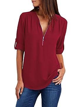 JIAJIA YL Girl Camisas Mujer, 20