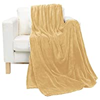 Luxury Beige King Size, 210 X 230 Cm Coral Plush Blanket