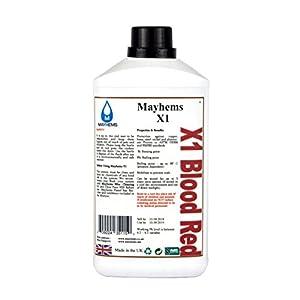 Mayhems X1 Blutrot Vorgemischte Wasser kühlflüssigkeit 1L