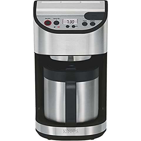Cafetiere Isotherme Inox - Krups - kt4065 - Cafetière isotherme programmable