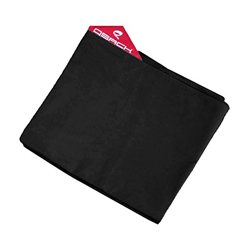 QSack Outdoor Sitzsack XXL Hülle, Bezug, 140x180 cm (schwarz)