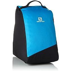 Salomon Original Bootbag - Bolsa para botas de esquí (32L), 39x23x38 cm, negro/azul