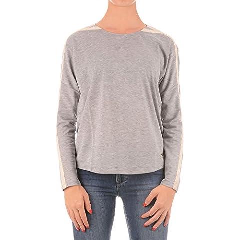 T-shirt manica lunga con strisce in contrasto colore sulle bracciaT-shirt Donna ARMANI JEANS 6X5M09 5J0CZ Manica Lunga Maglia Maglietta Moda