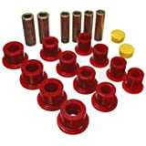 Energy Suspension 4.2148R Front Leaf Spring Bushing Set by Energy Suspension