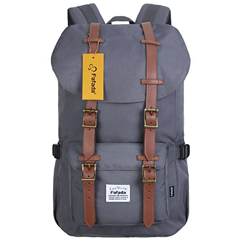 Imagen de fafada unisex  causal nylon hombres la sara  saco de viaje la bolsa de ordenador 23l gris