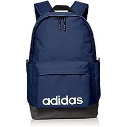 Adidas DM6146 Bolsa de Deporte, Hombre, Blanco/Azul (azuosc/Rojsol), Talla Única