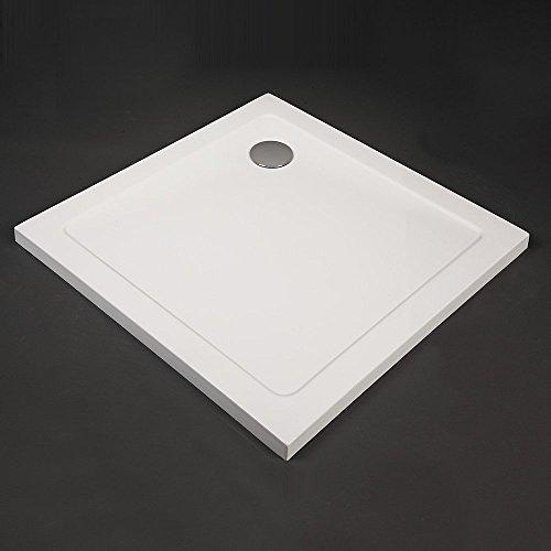 Home Deluxe extraflache rechteckige Duschtasse 100 x 100 cm