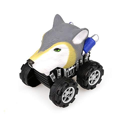 lustiges Spielzeug, ALIKEEY Wolf Friction Powered Car Zurückziehen Fahrzeug Mini Tier Auto Spielzeug Für Geschenke Ki