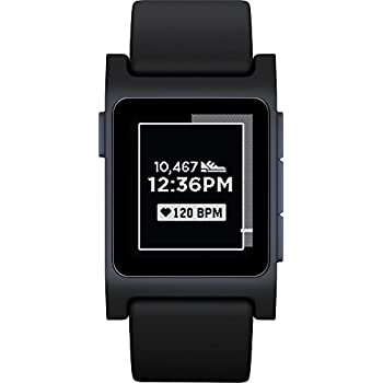 Pebble 2 Heart Rate - Smartwatch con Pantalla de 1.22