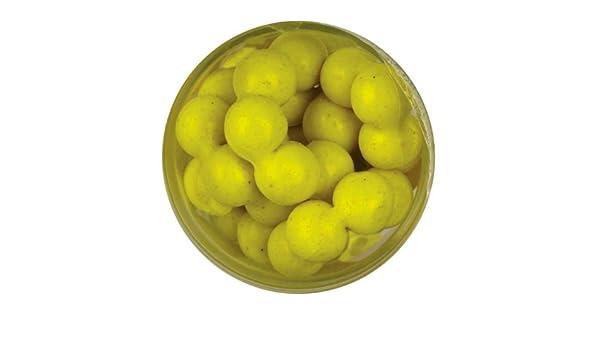 Berkley PowerBait Power Eggs Floating Magnum Chartreuse Garlic Scent FEGC